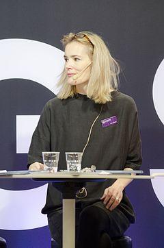 Lotte Olsson på Bogmessen i Göteborg 2016
