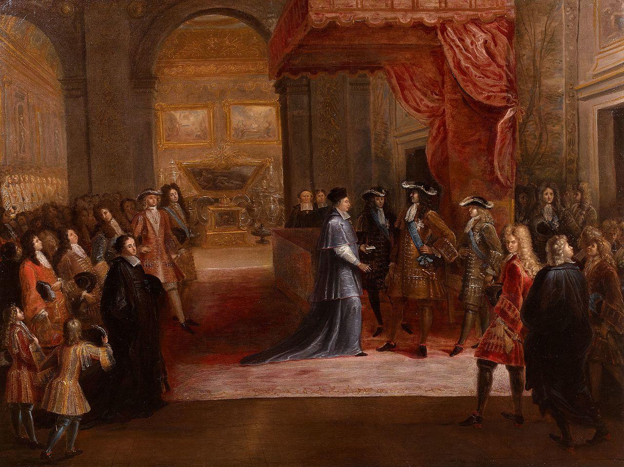 Louis xiv versailles 27 avril 1711 pierre denis martin musée meudon.jpg