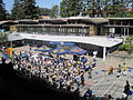 Lower Sproul Plaza during Cal Day 2010 9.JPG