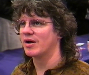 Tom Lyle - Tom Lyle at a comics convention in New York City in 1992