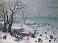 Lucas van Valckenborch - Winter Landscape with Snowfall near Antwerp - Google Art Project.jpg
