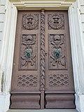 Ludwigsburg, Residenzschloss, Teil Altes Schloss, Nordseite, Tür.jpg
