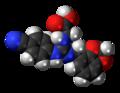 Lugduname molecule spacefill.png