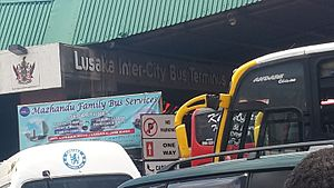 Lusaka Intercity Bus stand