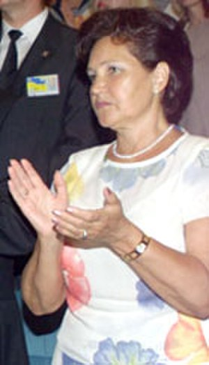 First Lady of Ukraine - Image: Lyudmyla Kuchma