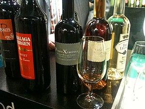 Malaga (wine) - Image: Málaga Virgen wines