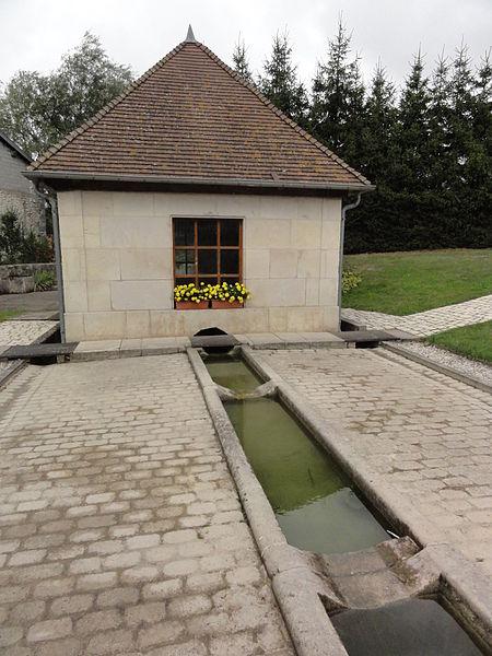Méligny-le-Grand (Meuse) lavoir