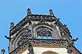 Münster, St. Ludgeri Kirche, Turm mit Wasserspeier.JPG