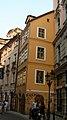 Městský dům U bílé botky (Staré Město), Praha 1, Karlova 28, Staré Město - celkový pohled.JPG