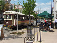 M-Line Trolley; Uptown Dallas, Texas.jpg