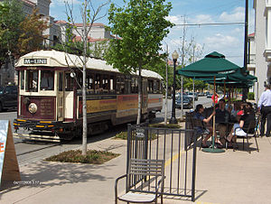 Uptown, Dallas - The McKinney Avenue Trolley