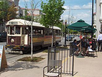 Uptown, Dallas - The McKinney Avenue Trolley
