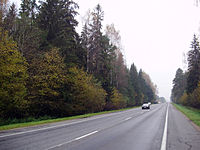 M8 in Shklow Raion (way to Russia).jpg