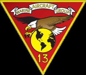 Marine Aircraft Group 13 - MAG-13 insignia