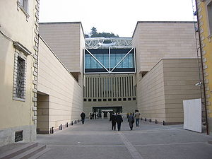 Museum of Modern and Contemporary Art of Trento and Rovereto - MART, Entrance