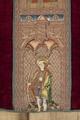MCC-19207 Rood kazuifel met verrijzenis, geboorte Christus, diverse heiligen en wapens (8).tif