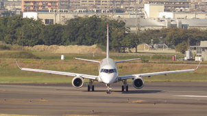 MITSUBISHI REGIONAL JET FRONT SIDE VIEW