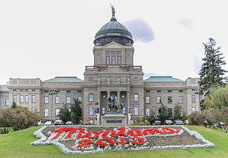Montana State Capitol - Image: MK01799 Montana State Capitol