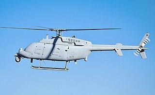 Northrop Grumman MQ-8C Fire Scout unmanned autonomous helicopter developed by Northrop Grumman