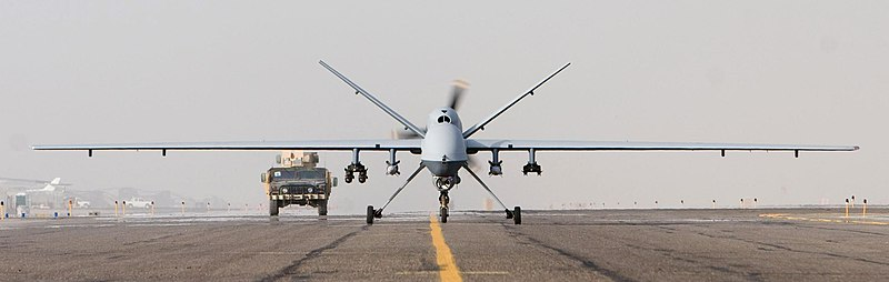 File:MQ-9 Afghanistan takeoff 1 Oct 07.JPG