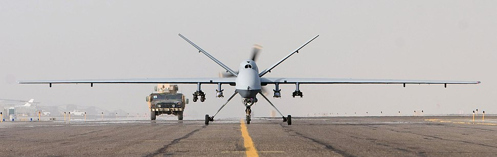MQ-9 Afghanistan takeoff 1 Oct 07