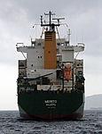 MV Merito Container Ship off Rosia Bay, Bay of Gibraltar.jpg