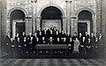 Maastricht, stadhuis, gemeenteraad tgv ambtsjubileum burgemeester, 1935.jpg