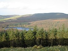 Macclesfield Forest and Trentabank Reservoir in the Peak District