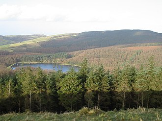 Macclesfield Forest - Macclesfield Forest and the Trentabank Reservoir