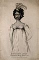 Madamoiselle Lefort, a bearded lady. Stipple engraving, 1819 Wellcome V0007169.jpg