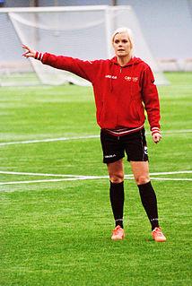Madelene Göras Swedish footballer