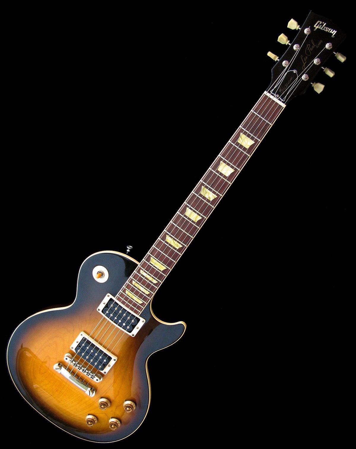 Gibson Les Paul - Wikipedia, la enciclopedia libre
