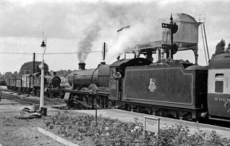 Maidenhead railway station - Maidenhead station in 1953