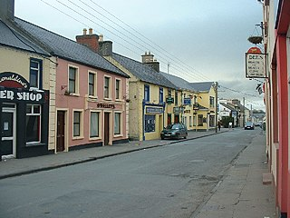 Headford Town in Connacht, Ireland