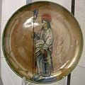 Maiolica di urbino lustrata a gubbio, san giuda taddeo, 1525.jpg