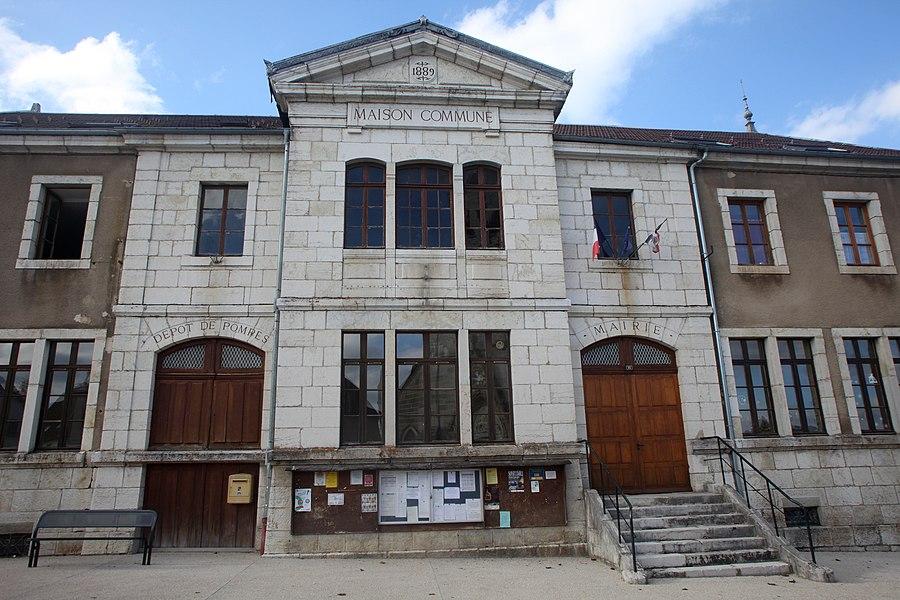 La maison commune de Remoray.
