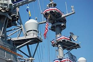 USS Makin Island (LHD-8) - Image: Makin Island Stars Stripes