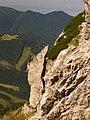 Malá Fatra, hiking down from Veľký Rozsutec - panoramio.jpg