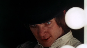 McDowell in A Clockwork Orange (1971) Malcolm McDowell Clockwork Orange.png