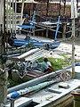 Man with Fishing Boats - Hua Hin - Thailand (34823127786).jpg