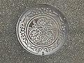Manhole cover of Tsuyazaki, Fukutsu, Fukuoka 2.jpg