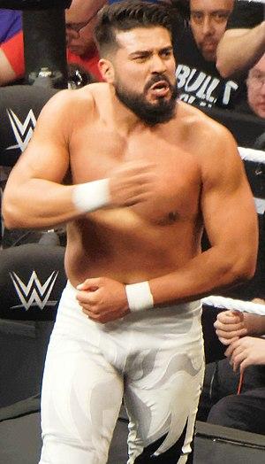 La Sombra (wrestler) - Almas in April 2016