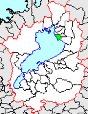 Biwa, Shiga - Biwa in Shiga prefecture.