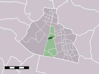 Westzaan - Image: Map NL Zaanstad Westzaan