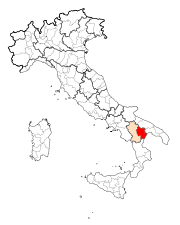 Map Province of Matera.svg