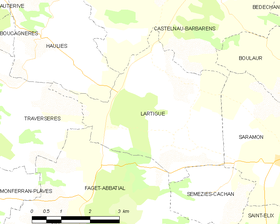Map commune FR insee code 32198.png