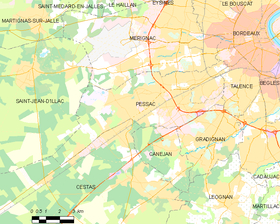 Map commune FR insee code 33318.png
