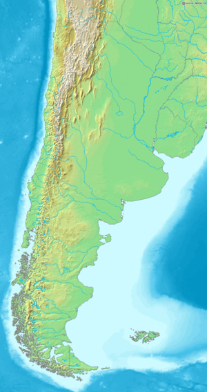 Argentine Sea - The Argentine Sea, off the Atlantic coast of Argentina