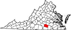 Map of Virginia highlighting Lunenburg County.svg
