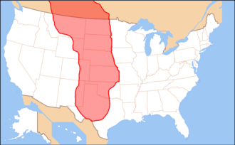 Red River War - Region of the Great Plains in North America